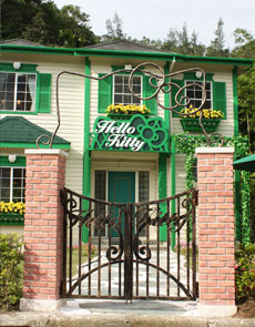 Hello Kitty Green House 01aa