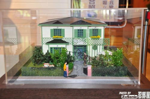 Hello Kitty Model House Green