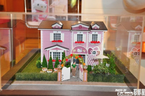 Hello Kitty Model House Pink