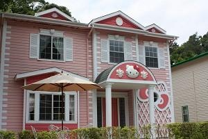 Hello Kitty Pink House 01a