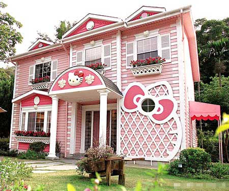 Hello Kitty Pink House 01b
