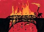 bridge burning